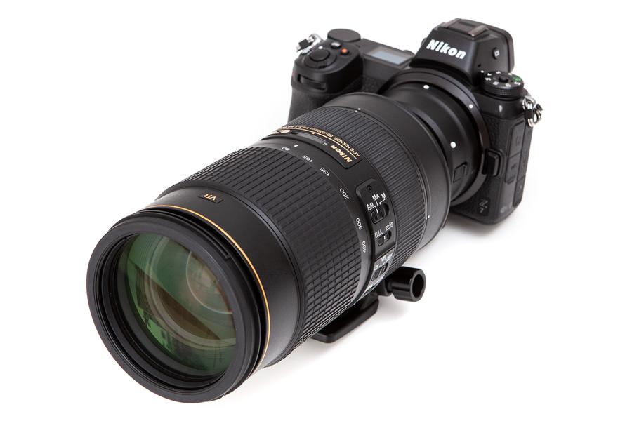 Nikon Z + AF-S 80-400mm F4.5-5.6G ED VR