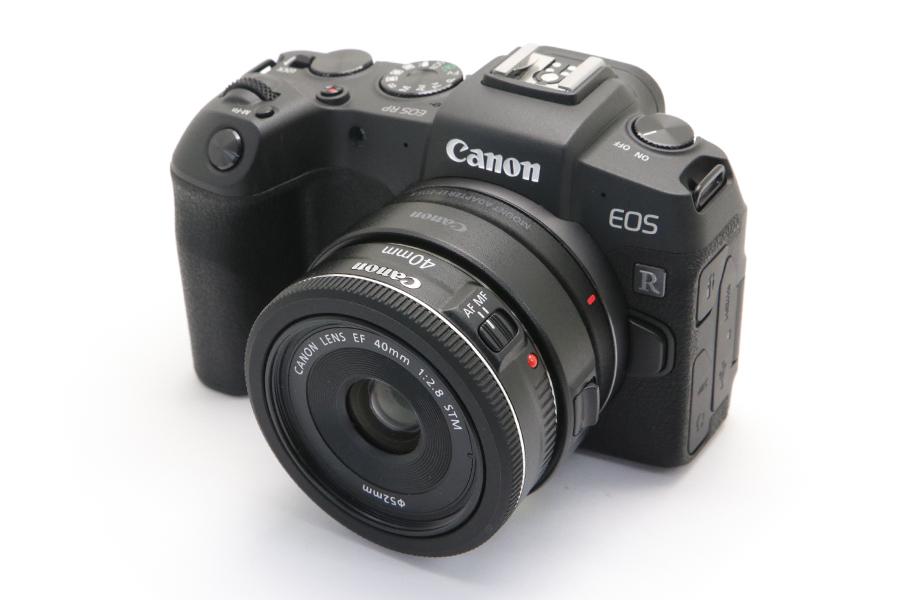 EOS R + EF40mm F2.8 STM