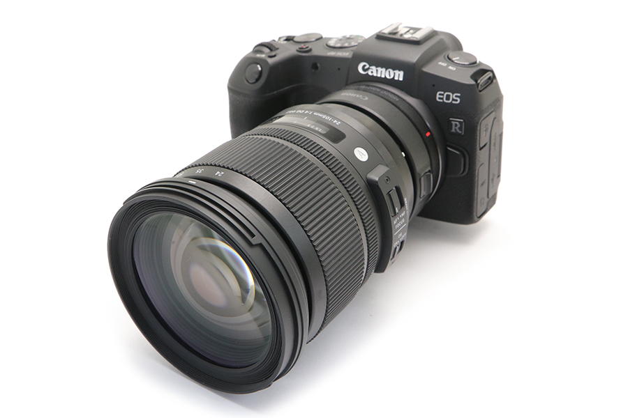 EOS R + SIGMA Art 24-105mm F4 DG OS HSM