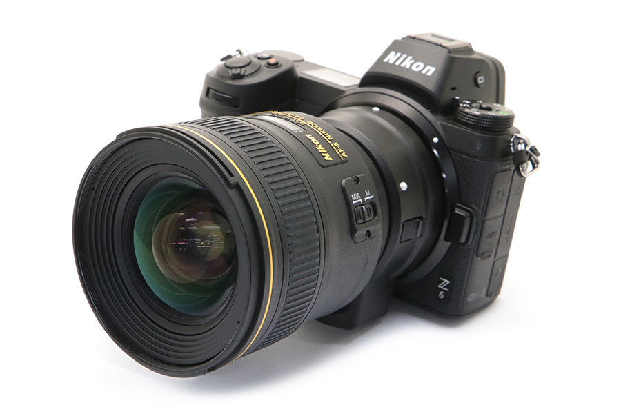 Nikon Z + AF-S 24mm F1.4G ED