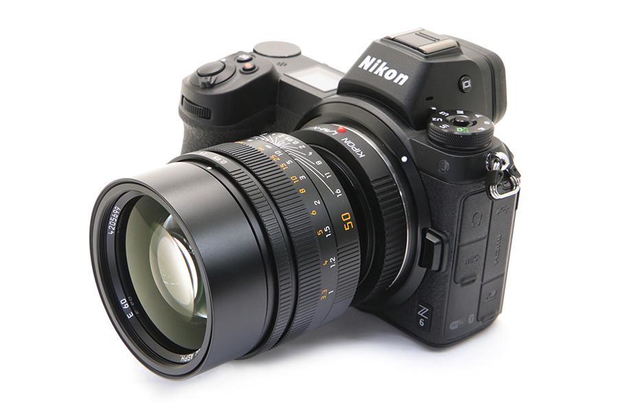Nikon Z + Leica ノクティルックス M50mm F0.95 ASPH.