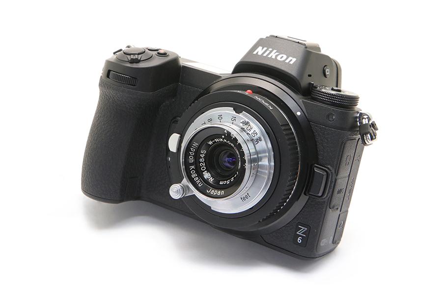 Nikon Z + W-NIKKOR.C (L) 25mm F4 + Finder