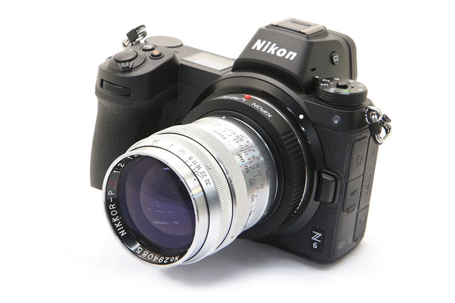 Nikon Z + NIKKOR-P.C (L) 85mm F2