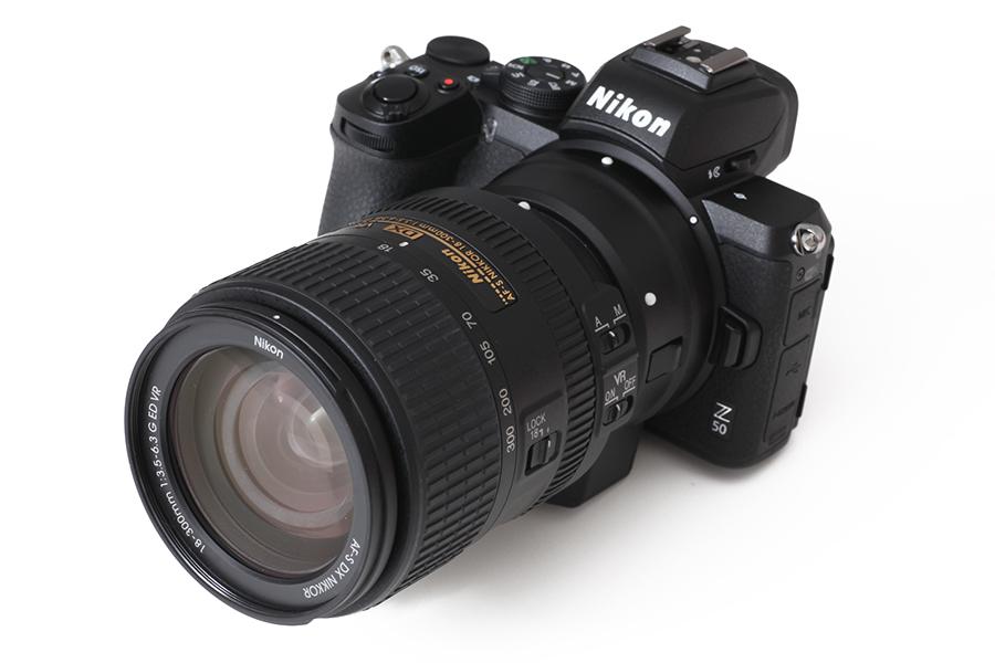 Nikon Z50 + AF-S DX 18-300mm F3.5-6.3G ED VR