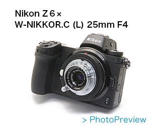 Nikon (ニコン) W-NIKKOR.C (L) 25mm F4