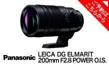 Panasonic (パナソニック) LEICA DG ELMARIT 200mm F2.8 POWER O.I.S. H-ES200