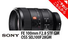SONY (ソニー) FE 100mm F2.8 STF GM OSS SEL100F28GM