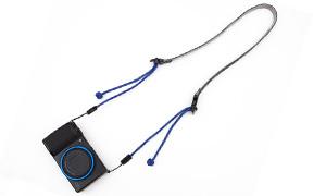 ARTISAN&ARTIST 別注パラコードカメラストラップ ACAM-P12 ブルー