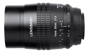 Lensbaby(レンズベビー) Velvet 85 85mm F1.8 ソフト(ニコンZ/キヤノンRF用)
