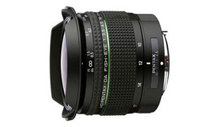 PENTAX HD DA FISH-EYE 10-17mm F3.5-4.5 ED