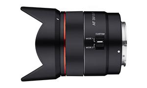 SAMYANG サムヤン AF 35mm F1.8 FE ソニーE用/フルサイズ対応