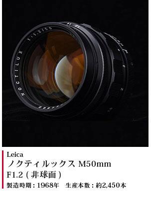 ノクティルックス M50mm F1.2