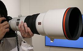 SONY FE400mm F2.8 GM OSS先行展示レポート