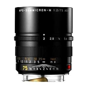 アポズミクロン M75mm F2.0 ASPH. (6bit) ブラック