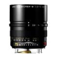 Leica (ライカ) アポズミクロン M75mm F2.0 ASPH. (6bit) ブラック