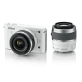 Nikon (ニコン) Nikon 1 J1 ダブルズームキット ホワイト