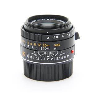 ズミクロン M35mm F2.0 ASPH. [11673] ブラック