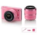 Nikon (ニコン) Nikon 1 J1 ダブルズームキット ピンクスペシャルキット ピンク