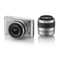 Nikon (ニコン) Nikon 1 J1 ダブルズームキット シルバー