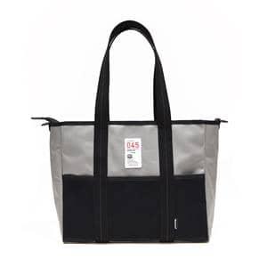 MAPCAMERA (マップカメラ) ×横濱帆布鞄 別注カメラキャリングトートバッグ グレー×ブラック メイン