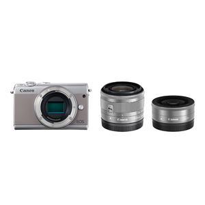 Canon (キヤノン) EOS M100 ダブルレンズキット グレー メイン