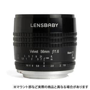 Velvet 56 56mm F1.6 ソフト (キヤノン用)  ブラック