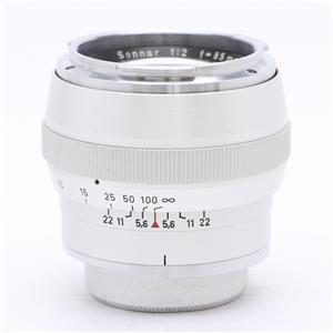 Sonnar 85mm F2 シルバー (Contarex)