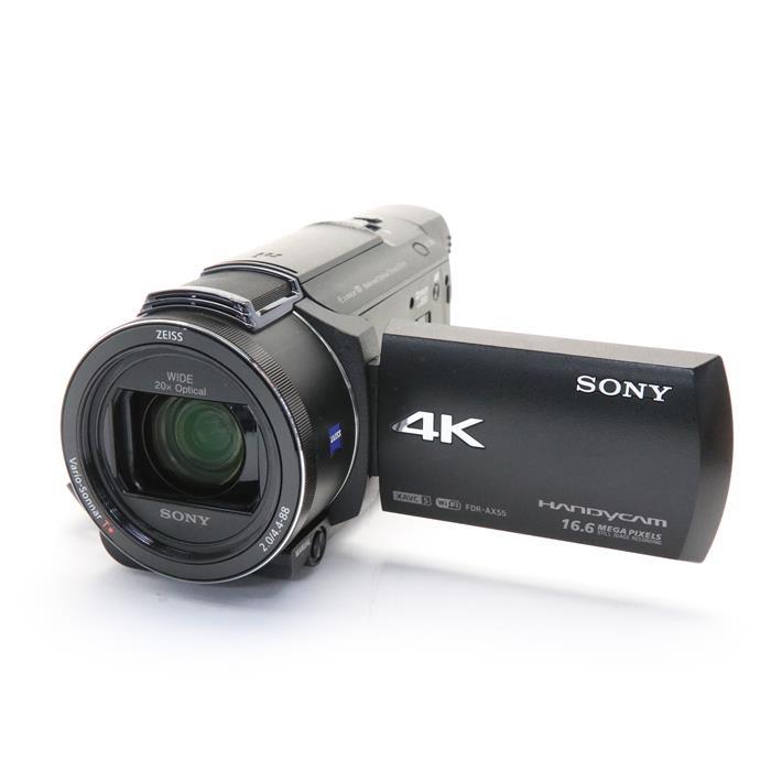 デジタル4Kビデオカメラレコーダー FDR-AX55