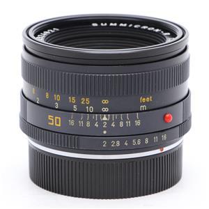 ズミクロン R50mm F2 フード組込 (R-Only)