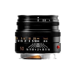 ズミクロン M50mm F2.0 レンズフード組込 (6bit) ブラック