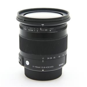 Contemporary 17-70mm F2.8-4 DC MACRO OS HSM(ニコン用)