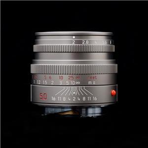 ズミクロン M50mm F2 レンズフード組込 チタン
