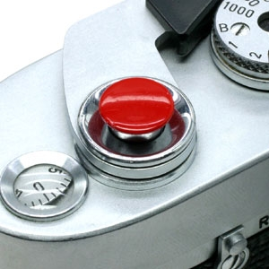 オリジナルMボタン(無地) レッド