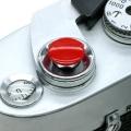 MAPCAMERA (マップカメラ) オリジナルMボタン(無地) レッド