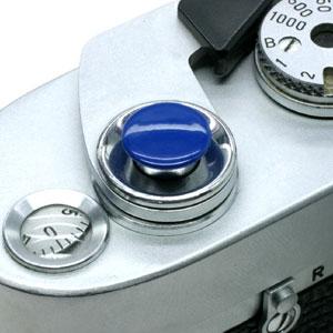 オリジナルMボタン(無地) ブルー