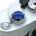 MAPCAMERA (マップカメラ) オリジナルMボタン(無地) ブルー
