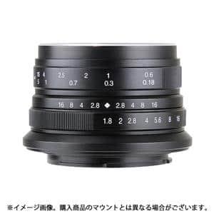 七工匠 (しちこうしょう) 7artisans 25mm F1.8 (マイクロフォーサーズ用) ブラック メイン
