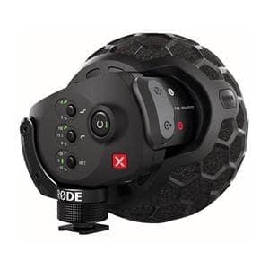 Stereo VideoMic X(XLR端子・ファンタム給電/9V乾電池兼用)
