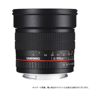 85mm F1.4 ASPHERICAL IF(キヤノン用)