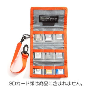 thinkTANKphoto (シンクタンクフォト) SDカードケース SDピクセルポケットロケット SD Pixel Pocket Rocket メイン