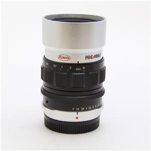 PROMINAR 25mm F1.8(マイクロフォーサーズ用) シルバー