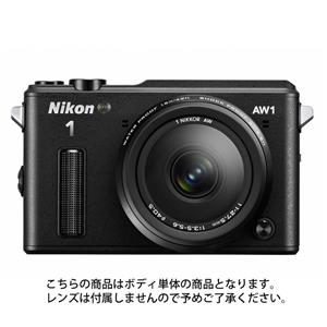 Nikon 1 AW1 ボディ(受注販売) ブラック