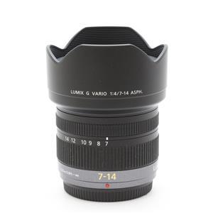 LUMIX G VARIO 7-14mm F4.0 ASPH.