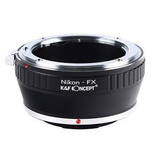 マウントアダプター ニコンFレンズ/フジフイルムXボディ用  KF-NFX