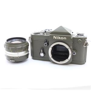 F2 (eyelevel) + Auto Nikkor 50mm F1.4C オリーブ塗装