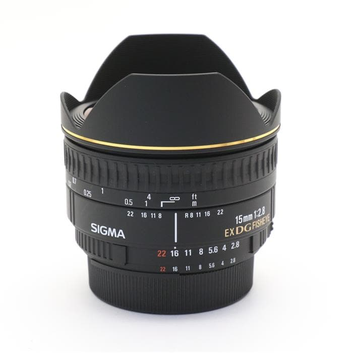 15mm F2.8EX DG DIAGONAL FISHEYE(ニコン用)
