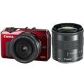 Canon (キヤノン) EOS M ダブルレンズキット レッド