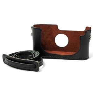 Leica MP3用 カメラケース&ストラップ ブラック
