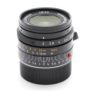 ズミクロン M28mm F2.0 ASPH. (フードはめ込み式)(6bit)