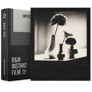B&W FILM FOR 600 BLACK FRAME